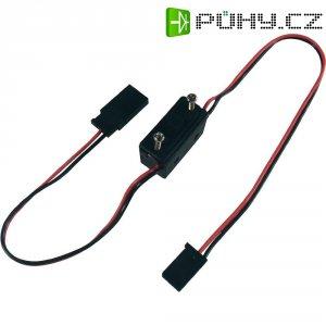Vypínač s Futaba konektory Modelcraft, 0,14 mm²