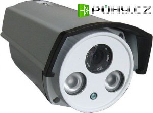 Kamera CMOS 1200TVL YC-925CR4, objektiv 4mm DOPRODEJ