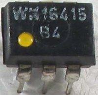 WK16415-2 optočlen, CTR_4 DIL8 žlutá tečka