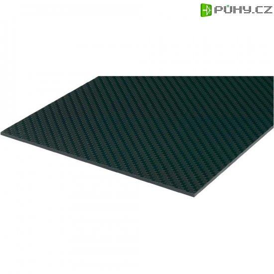 Uhlíková prepreg deska 150 x 340 x 2,5 mm - Kliknutím na obrázek zavřete