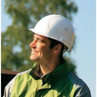 Ochranná helma Voss Helme, 2680, 4bodová, bílá
