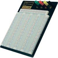 Kontaktní nepájivé pole EIC-108, 185 x 190 x 8,5 mm, 4 póly
