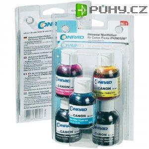 Inkoustové náplně do Canon PGI-5/CLI-8, RC-1, 5x 30 ml