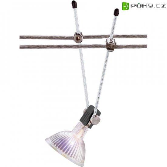 Lankové bodové svítidlo na tyčce, GX5.3, 12 V, 35 W, stříbrná - Kliknutím na obrázek zavřete