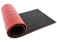 Podložka na cvičení černá+červená 180x50cm