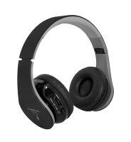 Sluchátka přes hlavu BOOM MAX STB01 BLUETOOTH černá