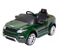Auto elektrické Rover zelené