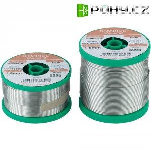 Cínová pájka PBF, Sn99Cu1, Ø 1,5 mm, 100 g, Stannol HS10 2510
