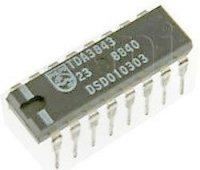 TDA3843 - zvukový obvod pro TV, DIL16
