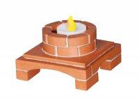 Stavebnice TEIFOC DECO BOX svítící
