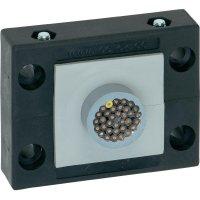Kabelová průchodková lišta Icotek KEL-B1 (42206), IP54, 72,8 x 58 x 17 mm, černá
