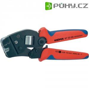 Krimpovací kleště samonastavovací pro dutinky Knipex 97 53 08, 0,08-10 mm²