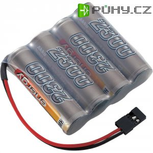 Akupack přijímače NiMH Conrad Energy AA, 4,8 V, 2300 mAh, Side by Side, JR
