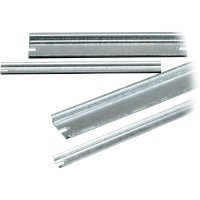 Montážní lišta Fibox DR 316, (d x š x v) 316 x 35 x 7,5 mm (DR 316)