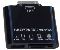 Redukce Samsung Galaxy Tab / USB,TF,M2,SD/MMC,MS