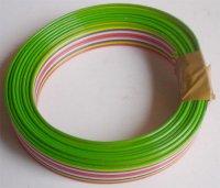 Kabel plochý PNLY 10x0,15mm2, balení 2m