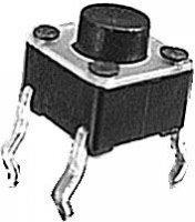Mikrospínač 6x6x5mm