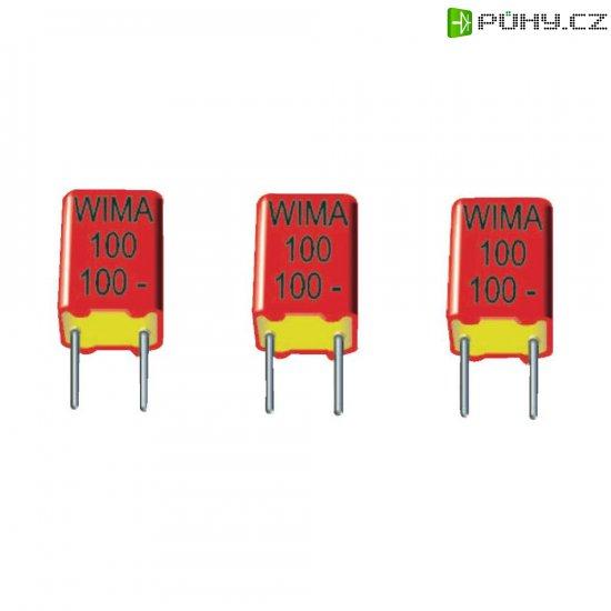Foliový kondenzátor FKP Wima, 1000 pF, 630 V, 2.5 %, 7,2 x 4,5 x 6 mm - Kliknutím na obrázek zavřete