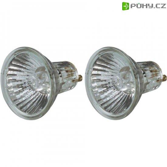 Halogenová žárovka Osram, 230 V, 20 W, GU10, Ø 51 mm, stmívatelná, teplá bílá, 2 ks - Kliknutím na obrázek zavřete