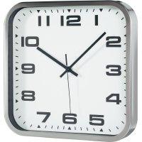 Analogové nástěnné hodiny TFA, 60-3013, 30 x 30 x 4,5 cm, kov