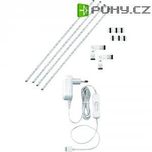 Dekorační LED pásky s příslušenstvím Paul Neuhaus, sada 4 ks, 4x 600 mm, bílá (1176-00)