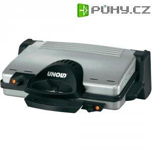 Stolní elektrický gril Unold 8555, 2000 W, nerez, černá