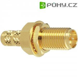 SMA reverzní konektor Amphenol RSMA6411A1-3GT50G-58U-50, 50 Ω, zásuvka