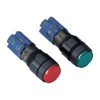 Prosvícené tlačítko RAFI 9.15108570/1300, 250 V/AC, 4 A, černá