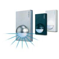 Venkovní detektor pohybu 180° Steinel, 603212, IP54, bílá
