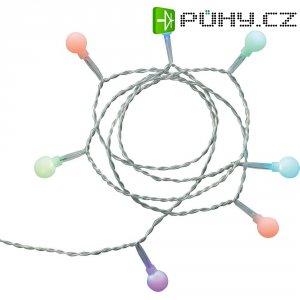 Vánoční mini řetěz barevný Polarlite, 35 LED, 6,8 m