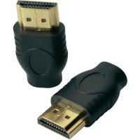 HDMI adaptér SpeaKa, HDMI zástrčka ⇔ HDMI zásuvka D Micro