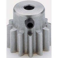 Ocelové ozubené kolo Modelcraft, 14 zubů, M1, otvor 3,2 mm