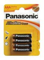 Baterie AAA(R03) alkalická PANASONIC Alkaline Power (blistr 4ks)