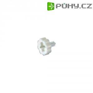 Nastavovací knoflík, 3,2 mm, bílá