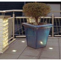Venkovní LED svítidlo SLV Trail-Lite 227471, 4x 0,3 W, nerez