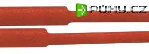 Bužírka smršťovací - 8.0 / 4.00mm červená