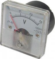 JY-45 panelový MP 9-15V= 45x45mm s potlačenou nulou