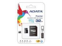Karta paměťová ADATA Micro SDHC 32GB Class 10 + adaptér