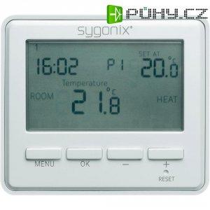 Pokojový termostat s týdenním programem Sygonix tx.4, 5 až 45 °C, bílá