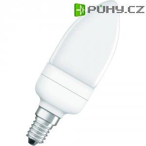 Úsporná žárovka svíčka Osram Superstar E14, 9 W, teplá bílá