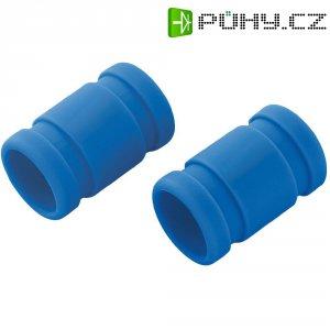 Přechodka tlumiče výfuku Reely, Ø 19/28 mm, 55 mm, modrá, 1 pár