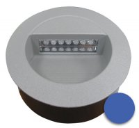 Svítidlo LED vestavné J01 12V 126mm modré