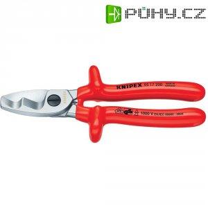 Nůžky na stříhání kabelů se dvěma břity Knipex 95 17 200, 200 mm