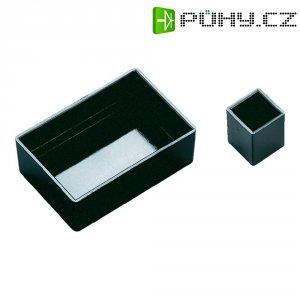 PRÁZDNÁ MODULOVÁ SKŘÍŇ OKW, (d x š x v) 25 x 25 x 15 mm, černá