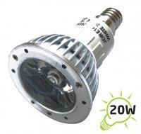 Žárovka LED E14/230V (1x) - 3W bílá
