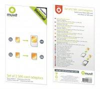 Muvit - adaptér z nano SIM na micro SIM a mini SIM karty