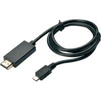 MHL kabel, USB micro B ⇒ HDMI, 1,5 m