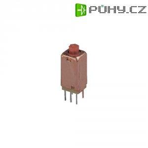 Filtrační tlumivka, až 1,8 MHz, polypropylen;ferit, 8 x 7 x 25 mm, červená