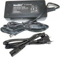 Napáječ, síťový adaptér NetBit 12V/2,5A spínaný, konc. 5,5x2,1mm