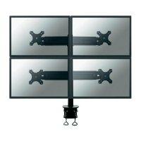 """Stolní držák na 4 monitory, 48 - 69 cm (19\"""" - 27\"""") NewStar FPMA-D700D4, černý"""